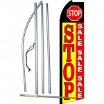 Stop Sale Sale Sale Swooper Flag Bundle