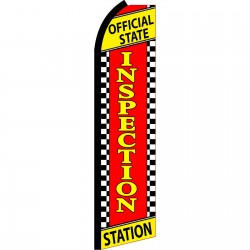 Inspection Station Swooper Flag
