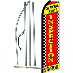 Inspection Station Swooper Flag Bundle