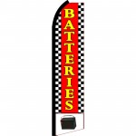 Batteries Swooper Flag