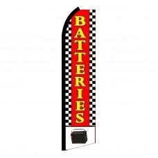 Batteries Swooper Flag