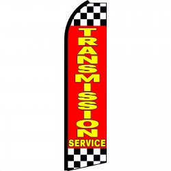 Transmission Service Red Swooper Flag