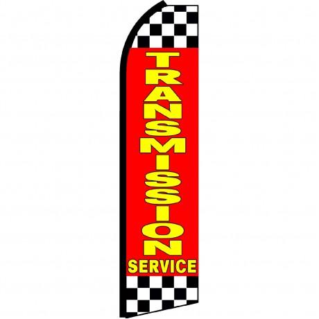Transmission Service Red Swooper Flag