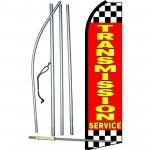 Transmission Service Red Swooper Flag Bundle