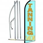 Tanning Salon Swooper Flag Bundle