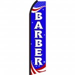 Barber Patriotic Swooper Flag