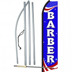 Barber Patriotic Swooper Flag Bundle