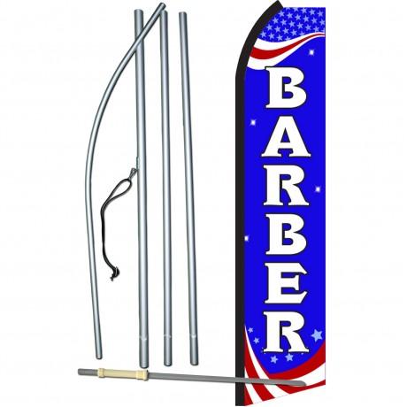 Barber Patriotic Swooper Flag Bundle