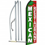 Mexican Restaurant Swooper Flag Bundle