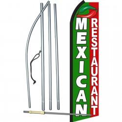 Mexican Restaurant Swooper Flag Bundle