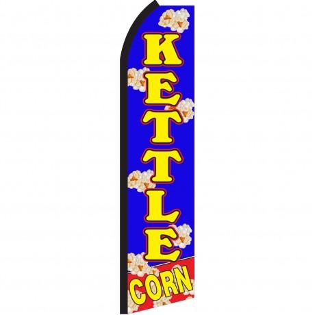 Kettle Corn Blue Swooper Flag