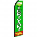 Teriyaki Bowl Swooper Flag
