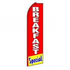Breakfast Special Swooper Flag