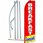 Breakfast Special Red Swooper Flag Bundle