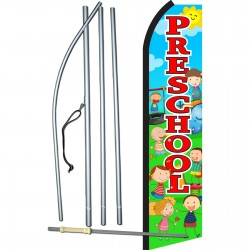 Pre-School Playground Swooper Flag Bundle