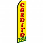 Credito Facil Yellow & Red Swooper Flag