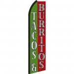 Tacos & Burritos Swooper Flag