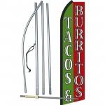 Tacos & Burritos Swooper Flag Bundle