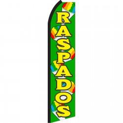 Raspados Green Swooper Flag