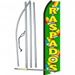 Raspados Green Swooper Flag Bundle