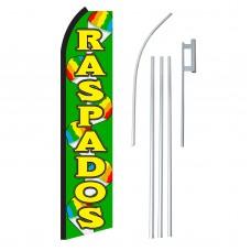Raspados Green & Yellow Swooper Flag Bundle