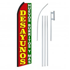 Desayunos Swooper Flag Bundle