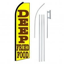Deep Fried Food Swooper Flag Bundle
