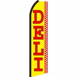 Deli Yellow Swooper Flag