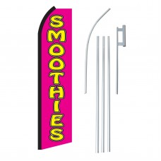 Smoothies Pink & Yellow Swooper Flag Bundle