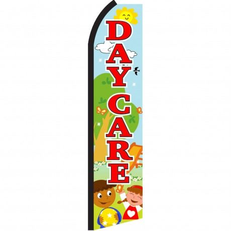 Day Care Playground Swooper Flag