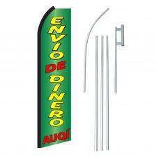 Envio De Dinero Auqi Swooper Flag Bundle