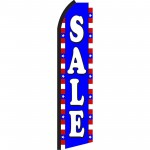 Sale Red, White & Blue Swooper Flag