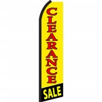 Clearance Sale Yellow Swooper Flag
