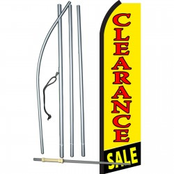 Clearance Sale Yellow Swooper Flag Bundle