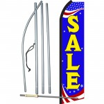 Sale Red, White & Blue Swooper Flag Bundle