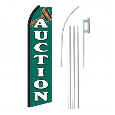 Auction Swooper Flag Bundle