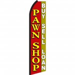 Pawn Shop Buy Sell Loan Swooper Flag