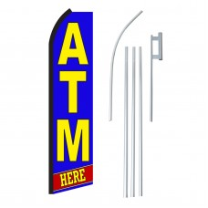 Atm Here Swooper Flag Bundle