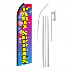 Party Supplies Swooper Flag Bundle