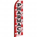 Pharmacy Red Swooper Flag