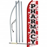 Pharmacy Red Swooper Flag Bundle