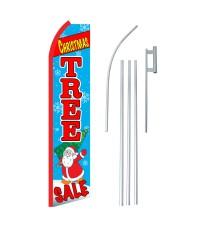 Christmas Tree Sale Swooper Flag Bundle