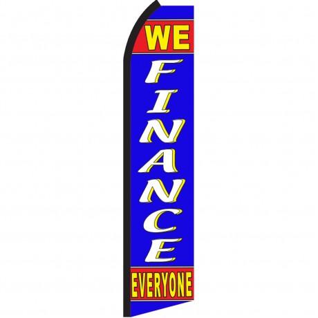 We Finance Everyone Swooper Flag