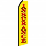 Insurance Yellow Swooper Flag