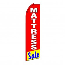 Mattress Sale Red Swooper Flag