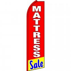 Mattress Sale Red Swooper Flag