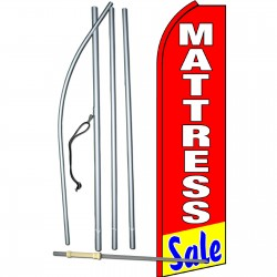 Mattress Sale Red Swooper Flag Bundle
