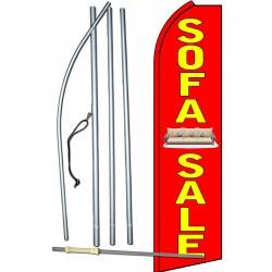 Sofa Sale R/Y Swooper Flag Bundle