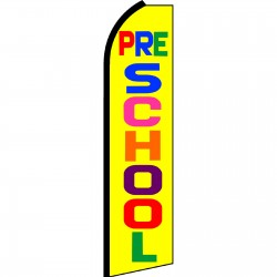 Pre-School Yellow Swooper Flag