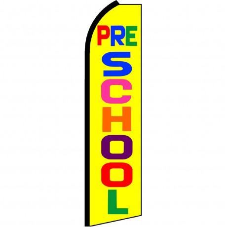 Pre-School Yellow Swooper Flag